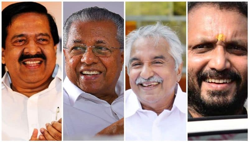 kerala assembly election 2021 case list against prime leaders