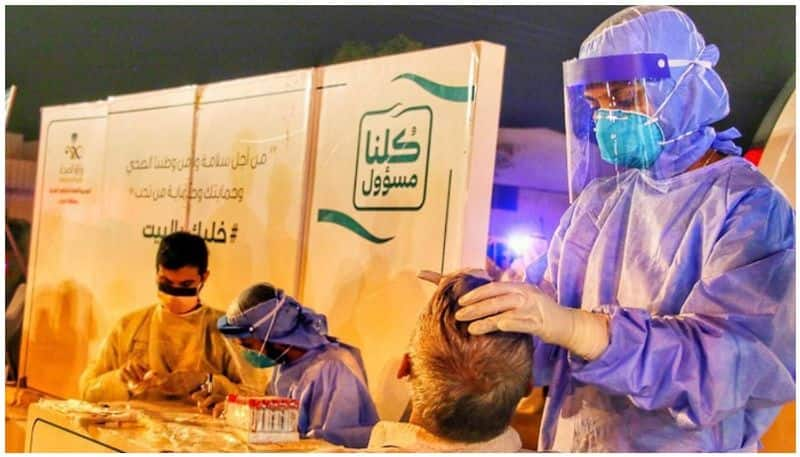 number of new covid infections decrease in saudi arabia