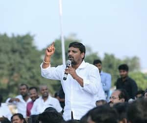 Telangana MLC Elections : Though Lost, teenmaar mallanna has made his name count in Telangana Politics, All You Need To Know About Him