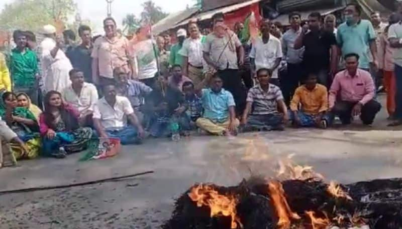 TMC factionalism openly in Murshidabad due to candidate bsm