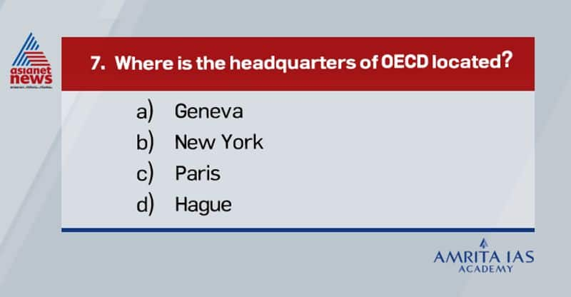 Answer(c)The Organization for Economic Co-operation and Development is an intergovernmental economic organization with 37 member countries, founded in 1961 to stimulate economic progress and world trade.