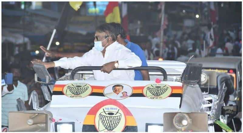 Captain Vijaykanth started the election campaign in Gummidipoondi!