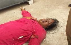 Karimnagar woman dead body found in drainage