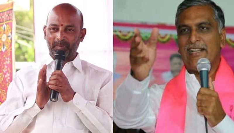 minister harish rao slams telangana bjp chief bandi sanjay ksp