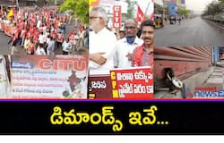 Bharat Bandh... Leftist Parties protest at maddipalem