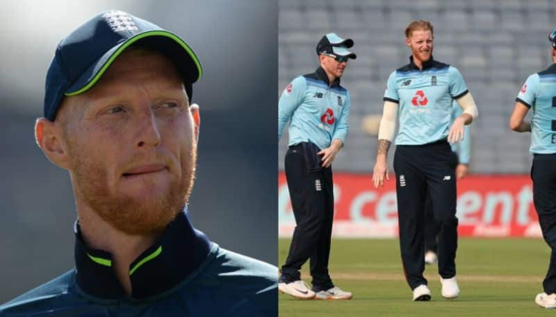 Ben Stokes forgot the ICCs saliva ban on the cricket ball and was immediately warned by the on-field umpire
