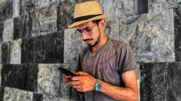 Is Yuzvendra Chahal eyeing the job of a fisher in the future? Check out his latest fishing video-ayh