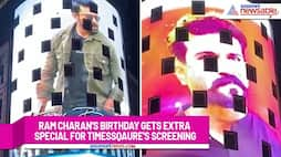 TimesSquare lights up with Ram Charan's pictures on his birthday; Watch video-ank