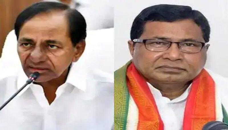 telangana congress leader janareddy challenge to cm kcr ksp