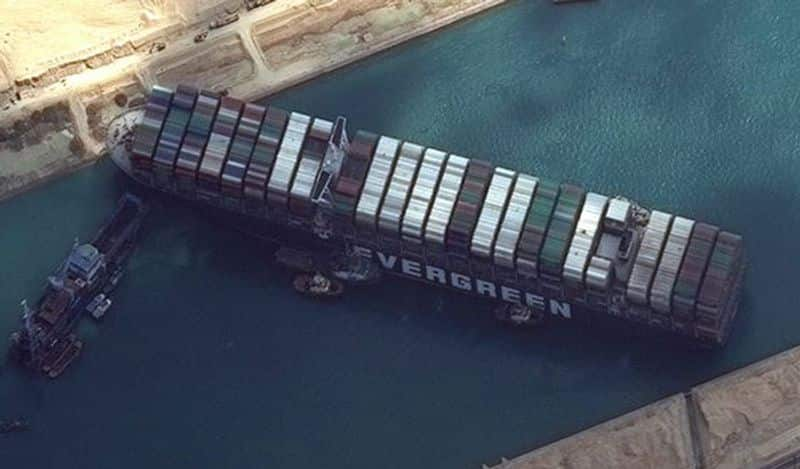 Suez Canal traffic jam  The most expensive   snr