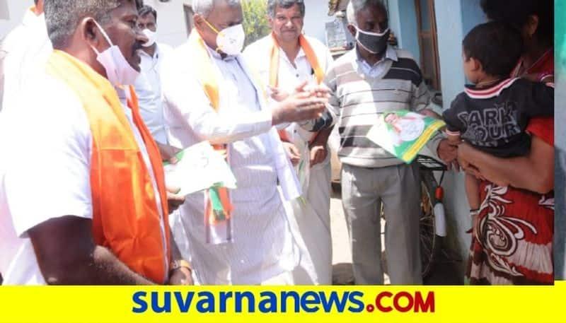ST Somashekar Camping  For Tamilnadu  Assembly election 2021 snr