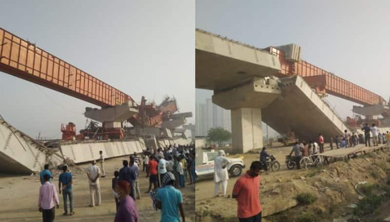 Under construction flyover on Gurugram collapse