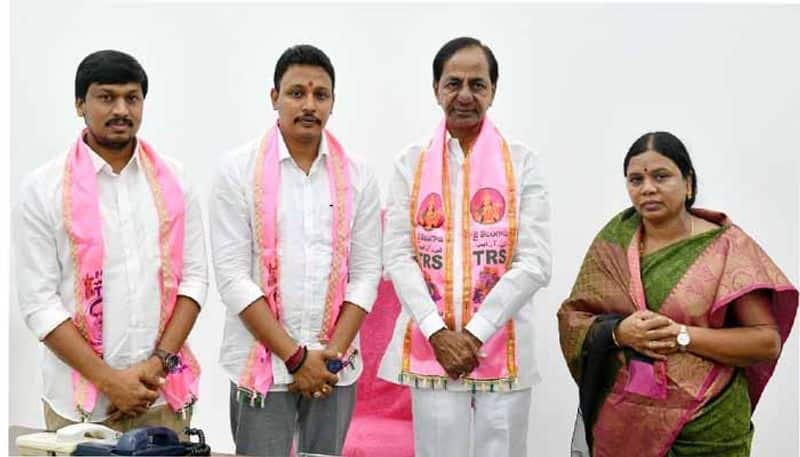 nomula bhagath victory ... cm kcr thanking to nagarjunasagar people