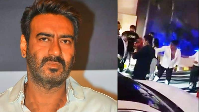 ajay devgn bitten up video goes viral is it Fake or not BJC