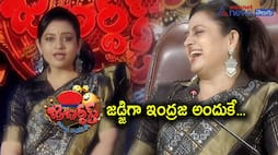 Yesteryear Heroine Indraja replaces Roja As Jabardasth Judge, The reason Behind...