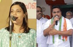 <p>drishyam 2 fame santhi priya election campaign for kalamassery udf candidate</p>