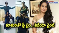 Actress Pragathi Spends Her Free Time With daughter Geetha, Video Goes Viral