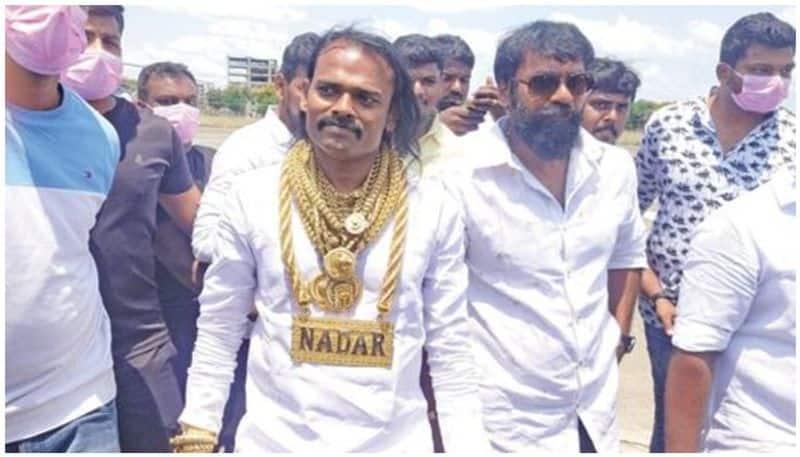tamilnadu candidate wore 5kg gold