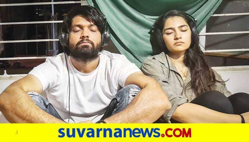 Simple star Rakshith shetty rehearsal for Sapthasagaradache ello kannda movie dpl