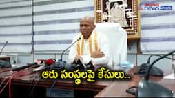 TTD EO Dharma Reddy Reacts on hairs smugling rumors