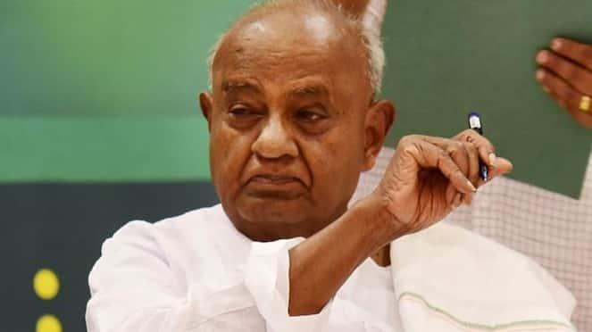 Karnataka By poll HD Devegowda Slams opposition leader siddaramaiah mah