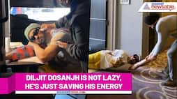 Heres how Diljit Dosanjh is saving his energy in this video (Watch) - ank