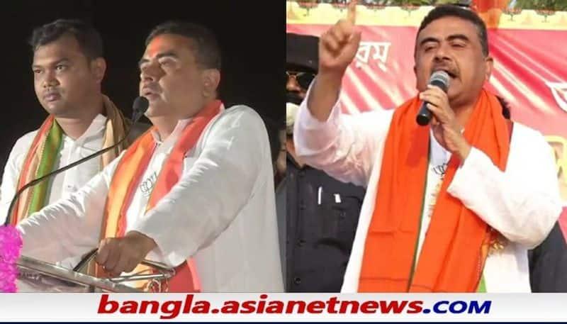 Nandigram BJP candidate Suvendu Adhikari is facing a political challenge bsm