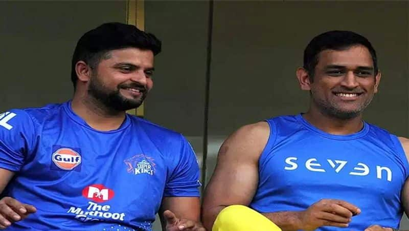 CSK shared the video of MS Dhoni and Suresh Raina batting practice spb