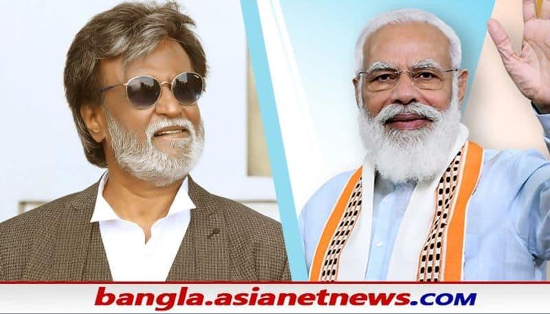 PM narendra Modi congratulates Rajinikanth for 51st Dadasaheb Phalke Award BRD