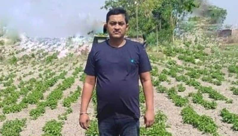 How Amresh Singh who couldnt study well now earns in lakhs as he cultivates medicinal plants