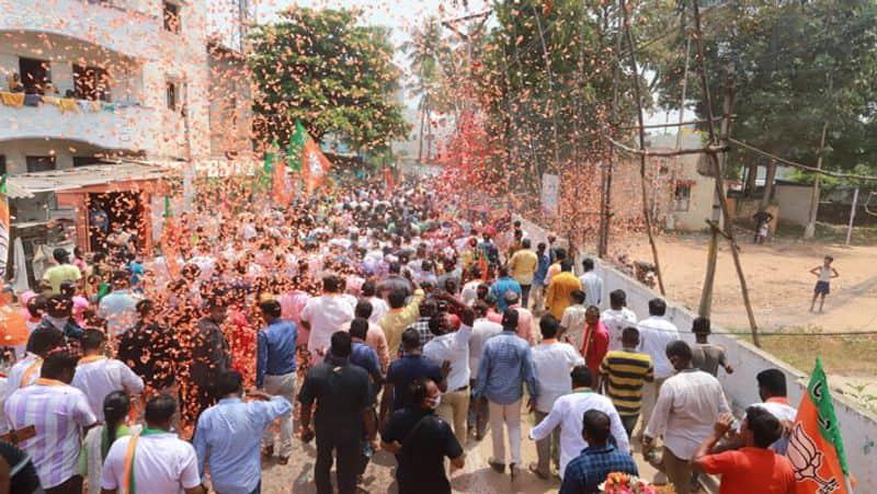 Election Campaign Ban in Ballari Due to Weekend Curfew grg
