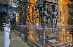 <p>Modi in Meenaskhi temple madhurai</p>