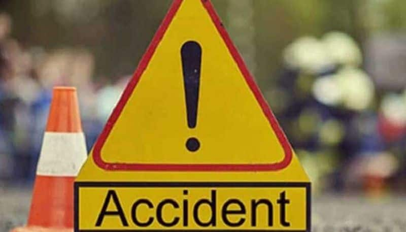 man killed in road accident in Adilabad district lns