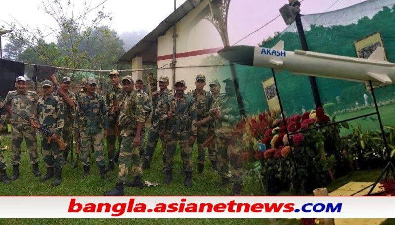 Golden jubilee of Bangladesh liberation war, BSF organizes torch exhibition in Murshidabad ALB