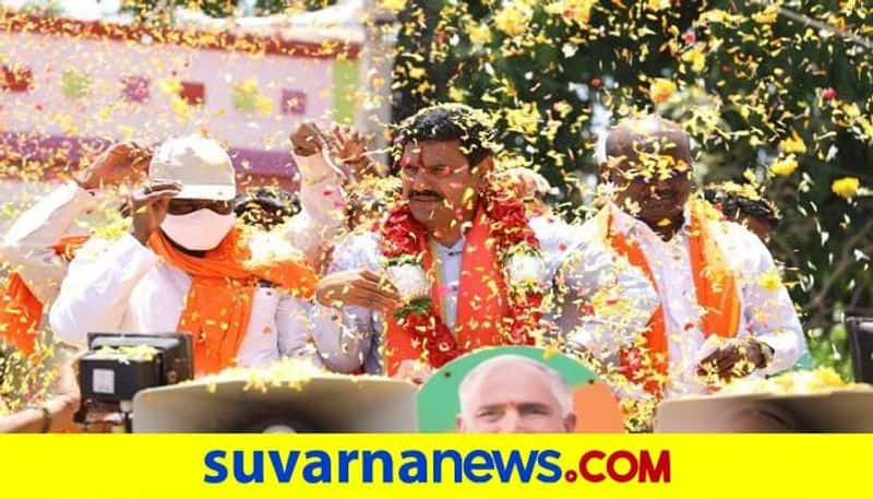 BJP will win in Maski By election Says BY Vijayendra snr