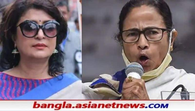 CM Mamata Banerjee attacks to   Debashree Roy on candidate issue RTB