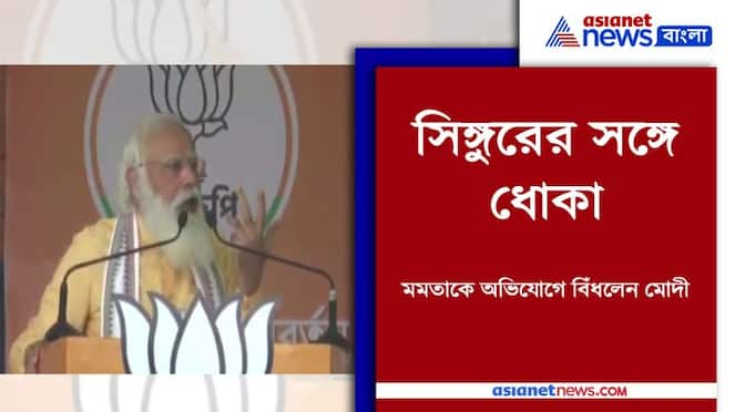 PM Modi blamed Mamata Banerjee for deindustrialisation in Singur PNB