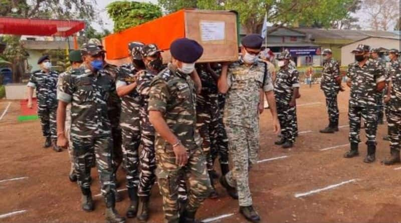 Sevaral jawans lost their lives in Naxal attack at Bijapur in Chhattisgarh ckm
