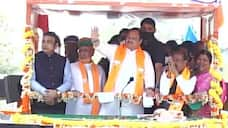 JP Nadda rallies on Puducherry and Tamil Nadu assembly elections, last day of campaigning kpa