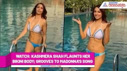Kashmera Shah flaunts toned bikini body enjoying her pool time; Watch Video - gps