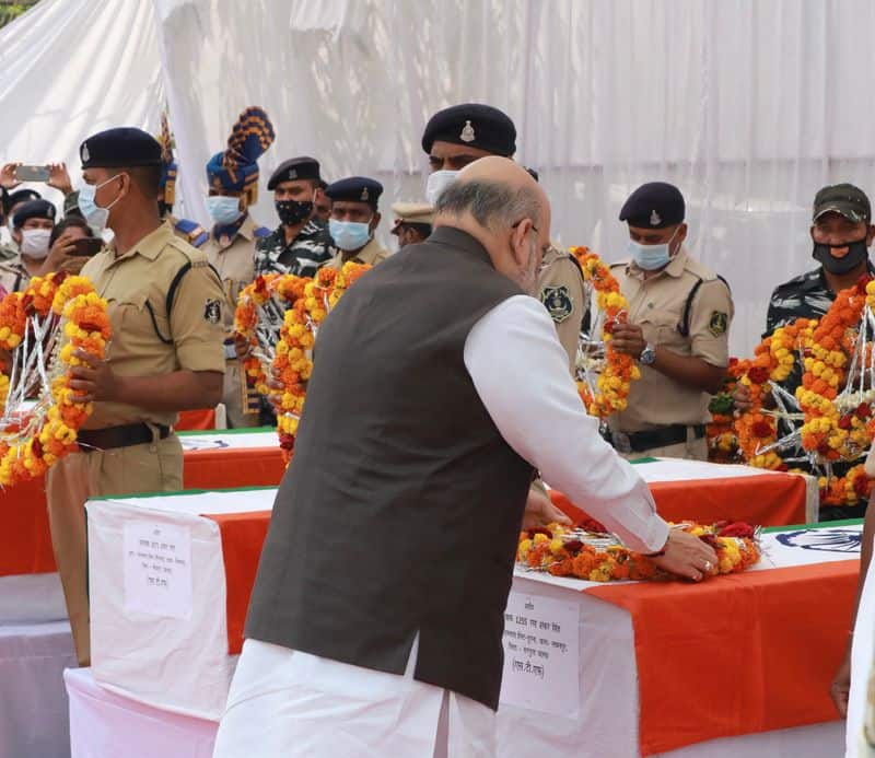 <p>During his visit, Shah will also meet some of the injured security personnel in a hospital, a home ministry official said.<br /> &nbsp;</p>