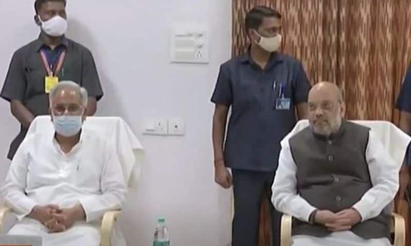 <p>Following this, Shah will chair a high-level meeting at the Police Coordination Centre in Jagdalpur on the Left Wing Extremism situation. Chief Minister Bhupesh Baghel, senior officials of the state police and the Central Reserve Police Force will attend the meeting, the official informed.<br /> &nbsp;</p>