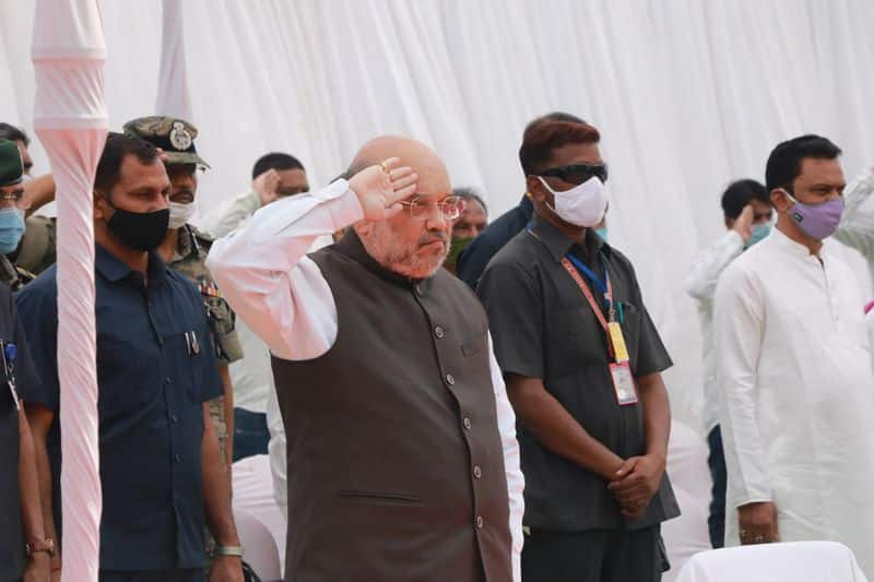 <p>The Home Minister will then leave for the Basaguda camp of the CRPF in Bijapur in a chopper and will interact and take lunch with the CRPF and state police personnel there. Later, he will visit state capital Raipur and visit three hospitals where the injured personnel are admitted.<br /> &nbsp;</p>