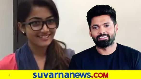 Rakshit shetty wishes Rashmika mandanna on her birthday with audition video vcs