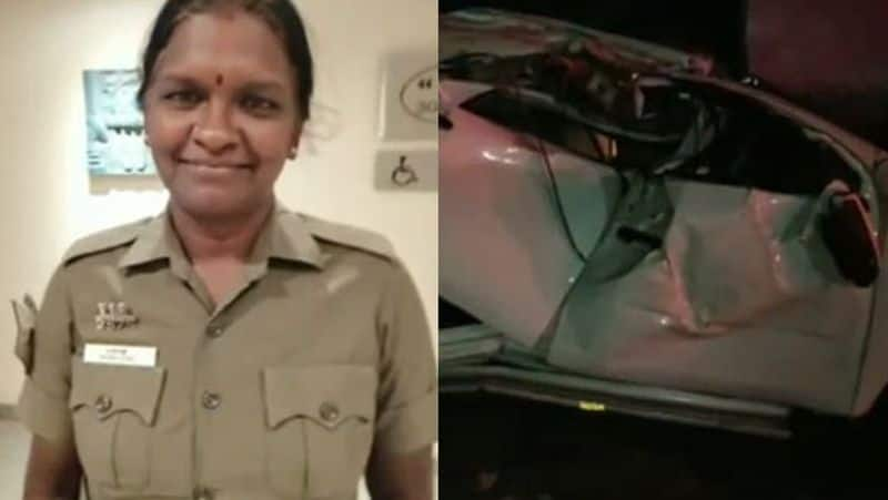 election flying squad car accident...female police dead