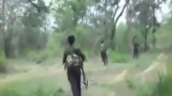 Chhattisgarh Three people killed in crossfire between security forces and Maoists at border of Bijapur and Sukma districts lns
