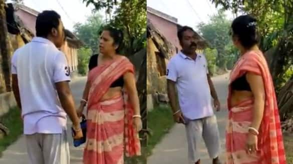 TMC leader arrested for obstructing a woman while going to vote in Bishnupur spb
