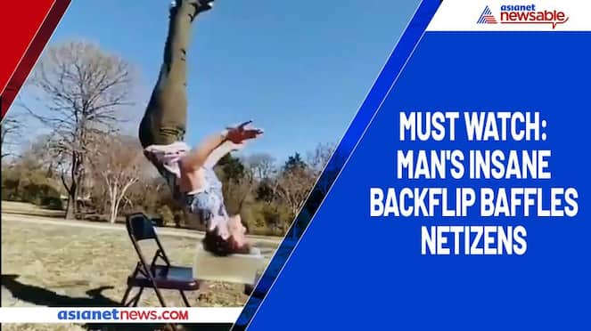 Must watch Man's insane backflip baffles netizens-tgy