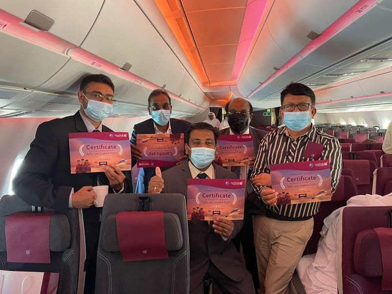 Qatar Airways to operate world first flight with a fully vaccinated crew and passengers ckm