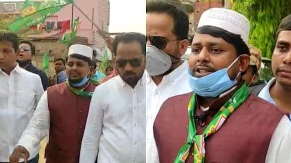 MIM candidate Matiur Rahman submitted his nomination in Malda Maltipur assembly constituency spb